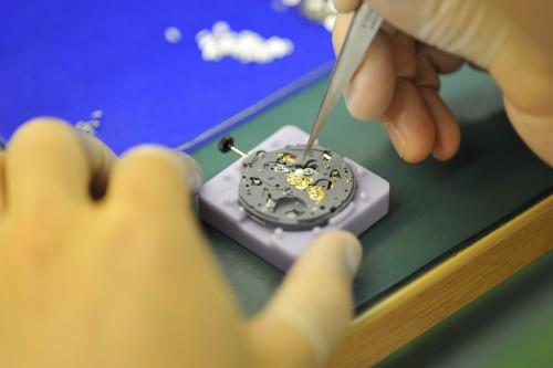 製造過程 シチズン時計マニュファクチャリング株式会社