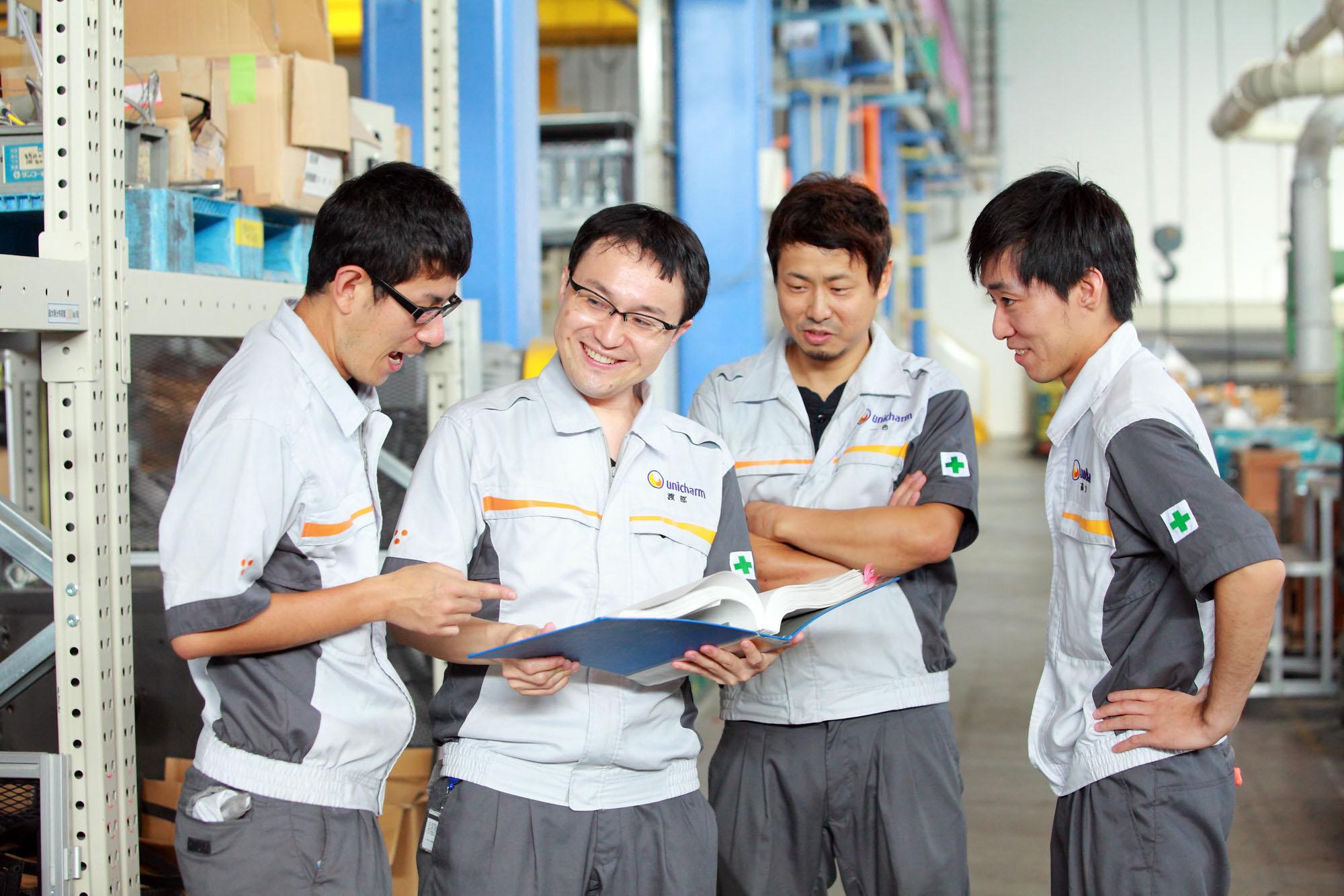 事業内容説明写真 ユニ・チャーム株式会社
