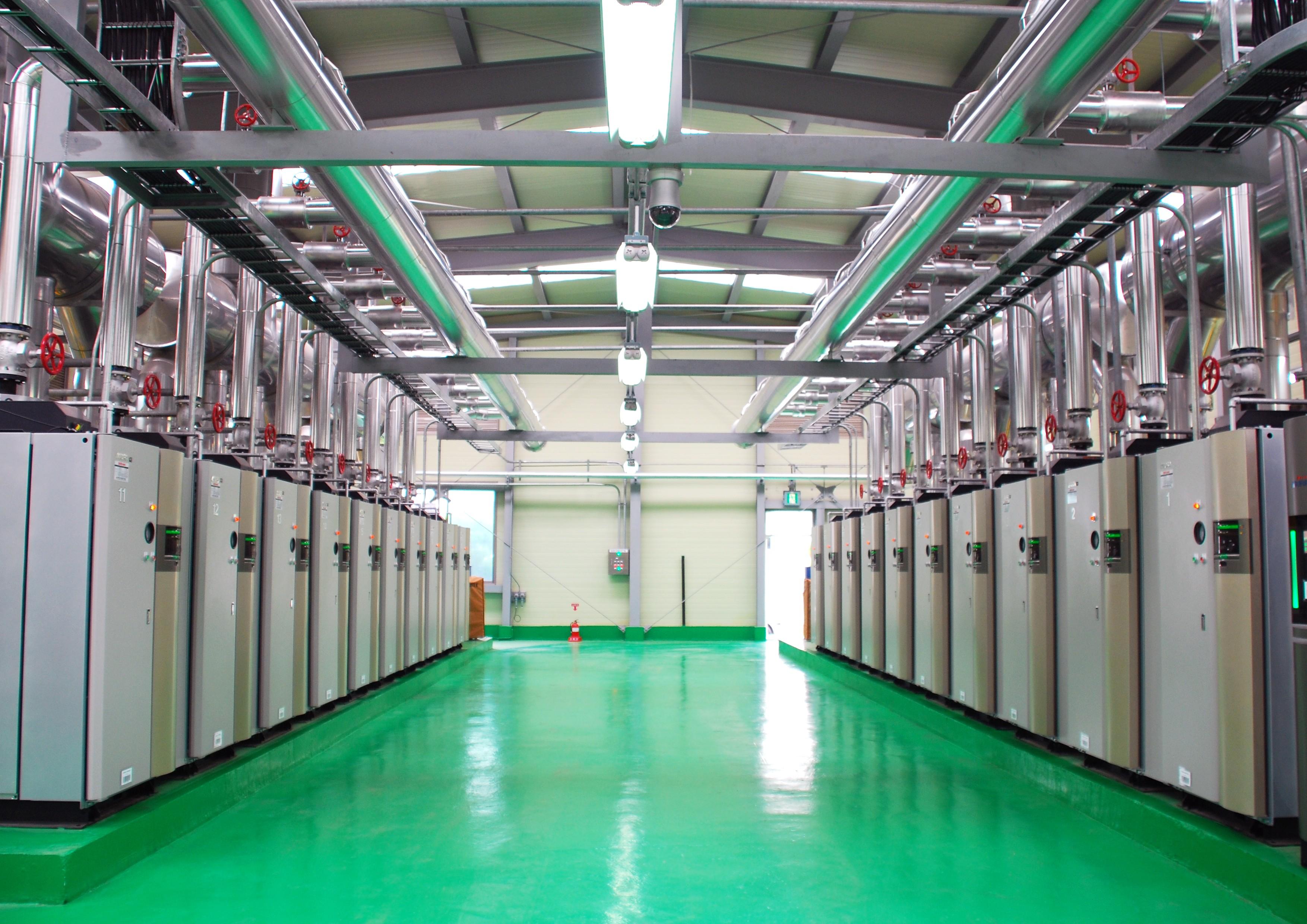 事業内容説明写真 三浦工業株式会社
